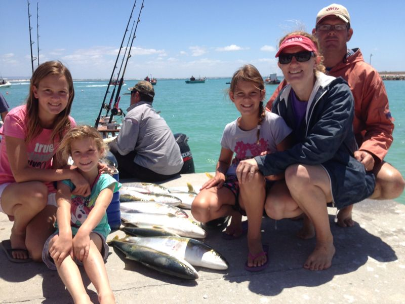 Family fishing fun awesome charters awesome charters for Family fishing boats